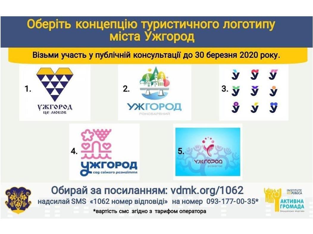 Яким повинен бути туристичний логотип Ужгорода?