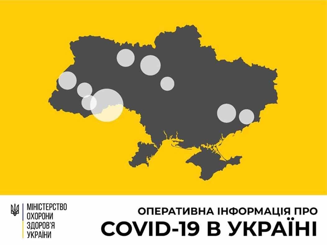 В Україні зафіксовано 113 випадків коронавірусної хвороби COVID 19 фото
