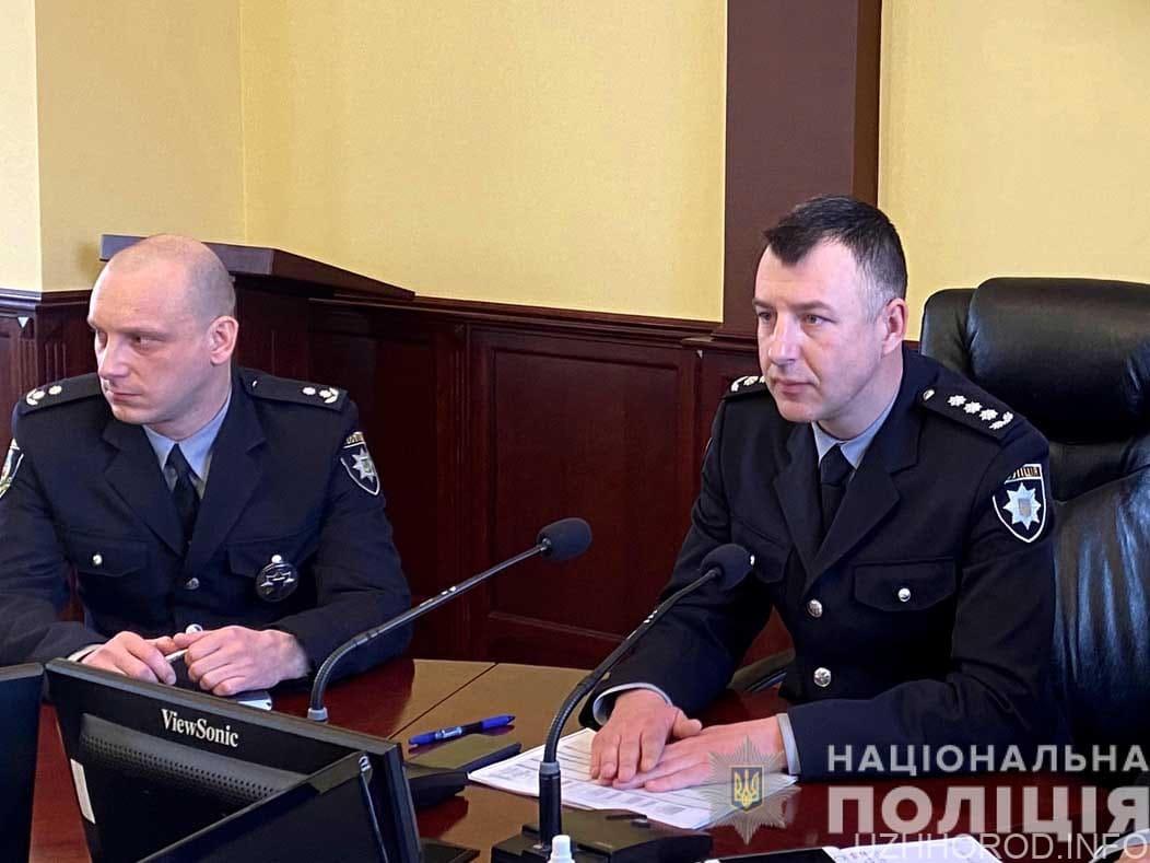 В Закарпатській поліції призначено нових заступників керівника поліції області фото