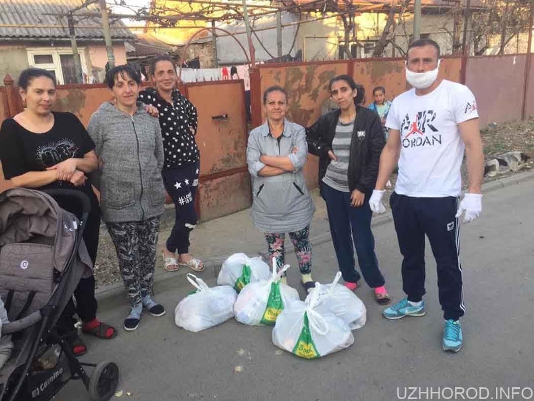 250 продуктових пакетів передали ромським родинам мікрорайону Радванка фото