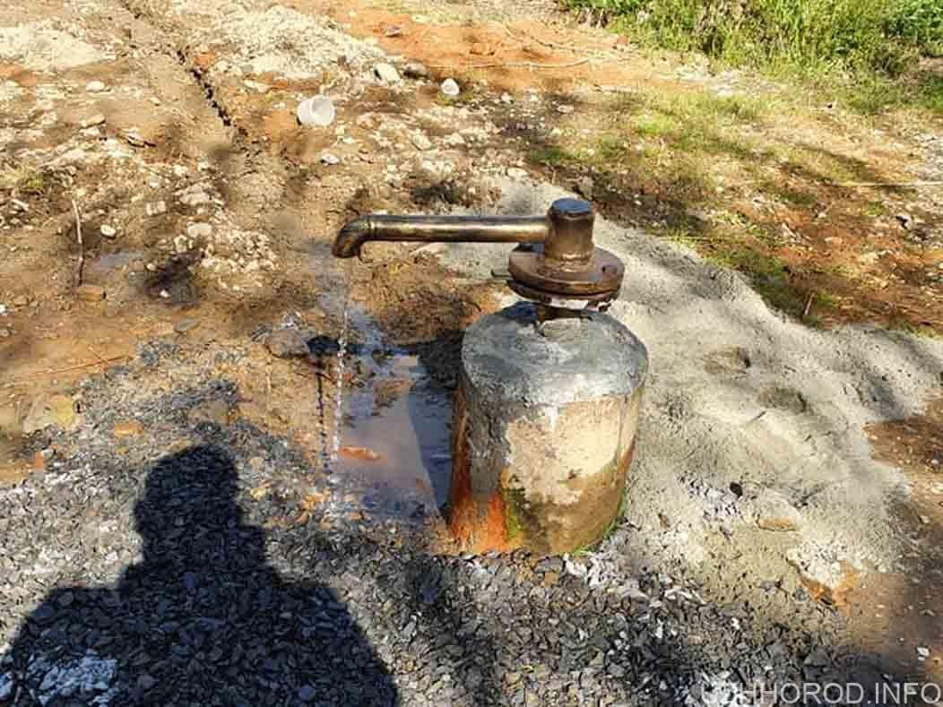 Джерело мінеральної води у парку відновлено фото