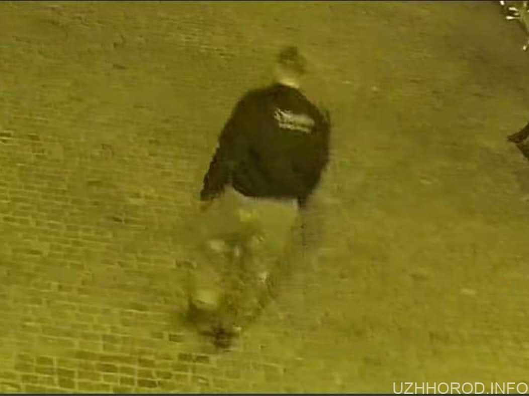 Крадія портфеля з пам'ятника Рошковичу зафіксували камери (ВІДЕО)