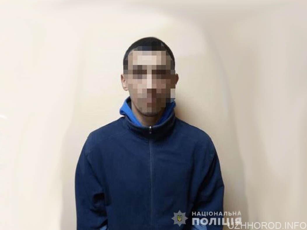 Поліція Ужгорода викрила місцевого чоловіка на крадіжці з магазину фото