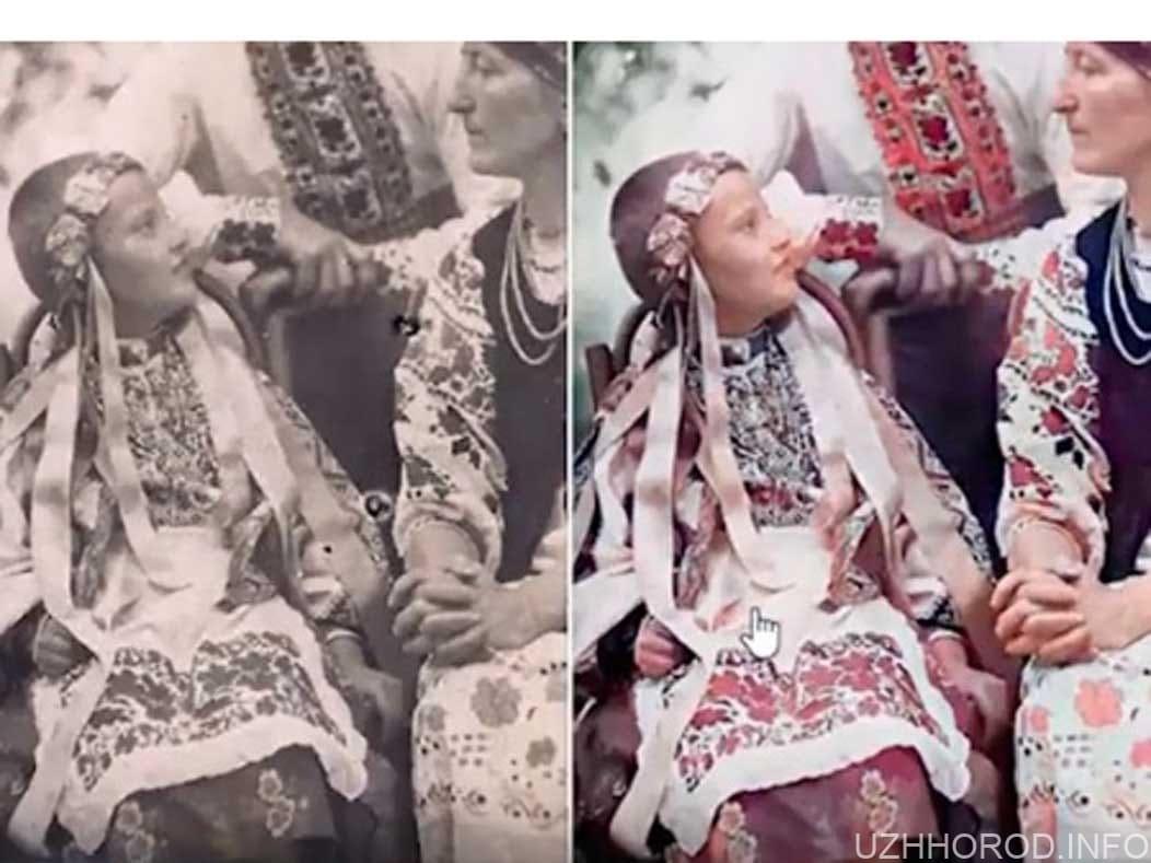 Ужгородець реставрує старі фотографії фото