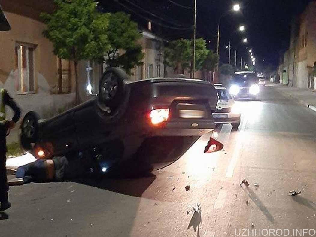 ДТП на вулиці Шумній опівночі фото