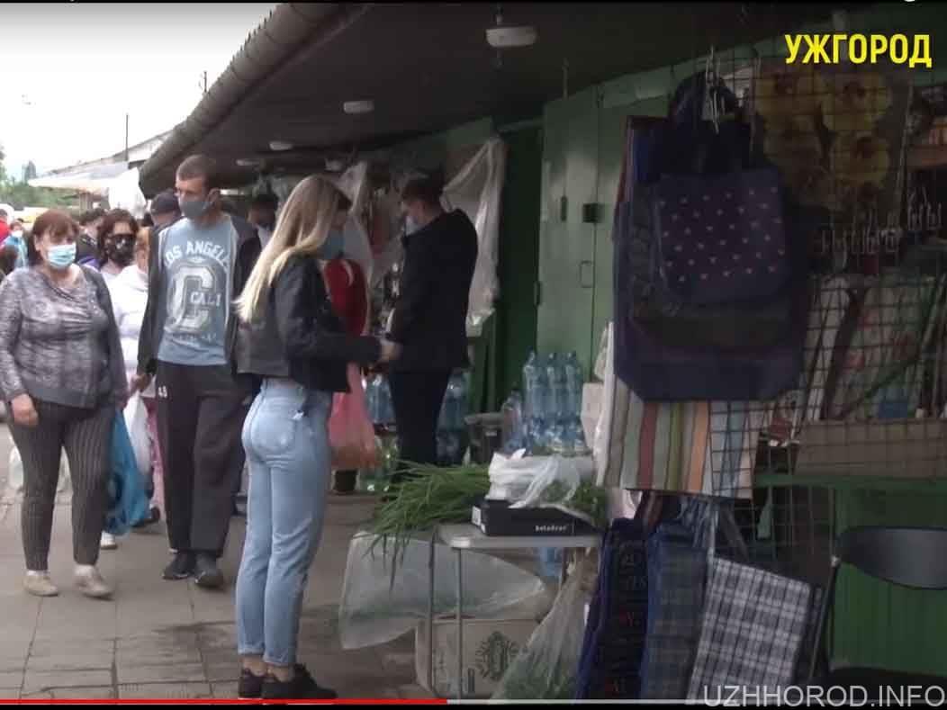 Кількість покупців на ринках Ужгорода зменшилася (ВІДЕО)