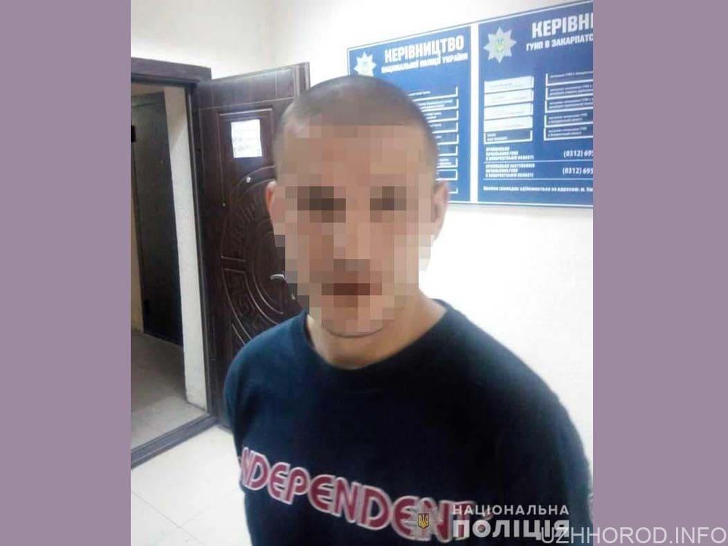 Затримали чоловіка який побив патрульного фото