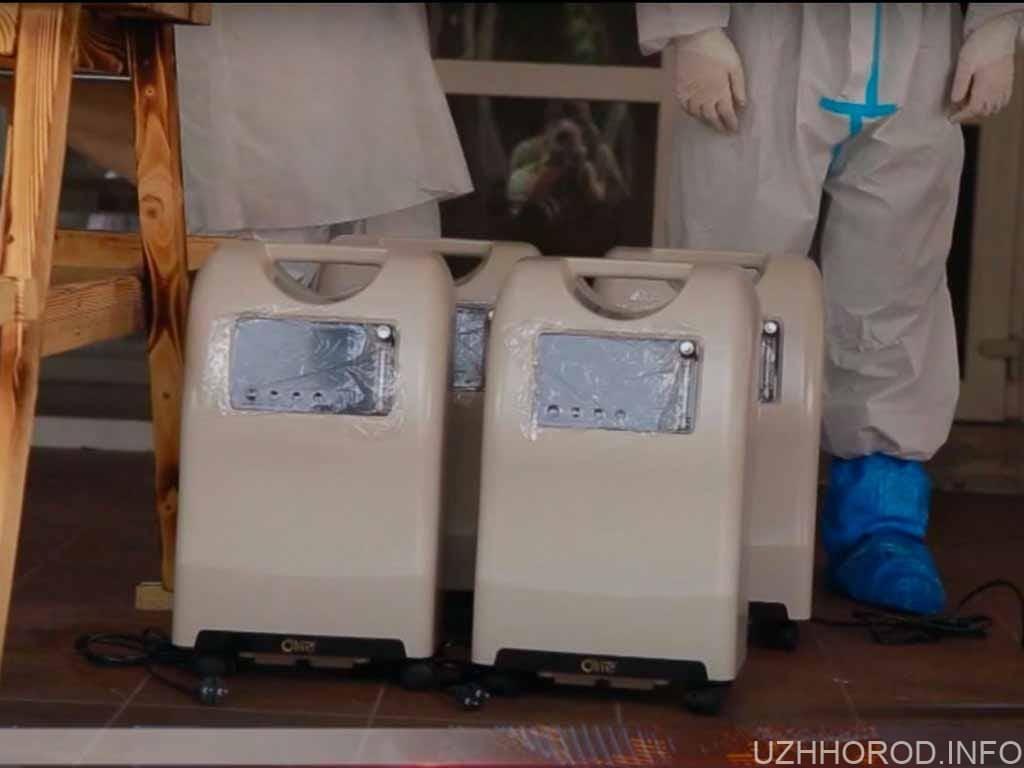 Для Ужгорода закуплять кисневі концентратори на понад 3 мільйони гривень