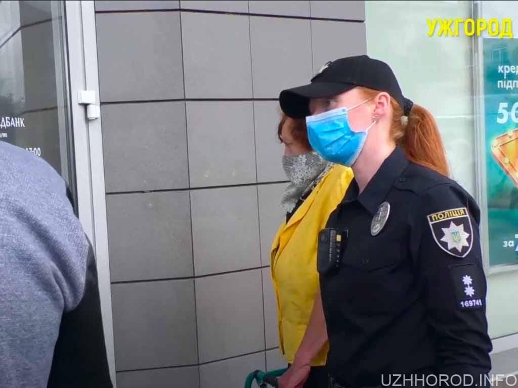 Дотримання карантину ужгородцями перевіряли поліцейські