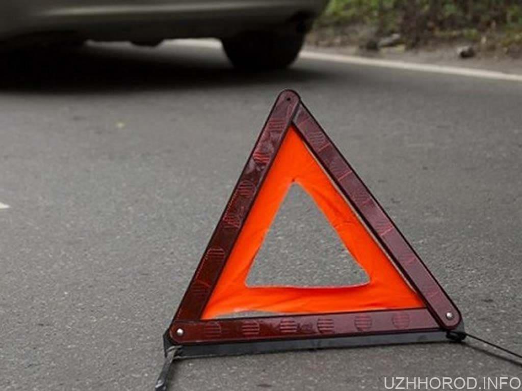 ДТП в Ужгороді: знову зіткнулися два автомобілі (ВІДЕО)