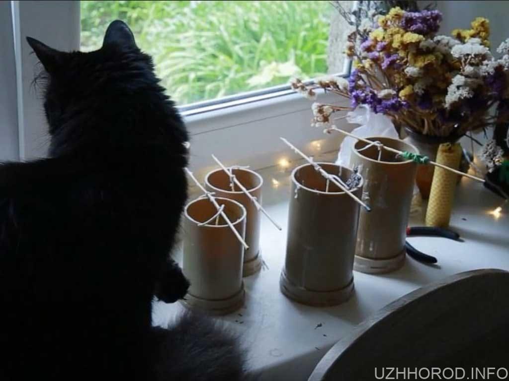 Горіти мистецтвом свічки Катерини Мікла фото
