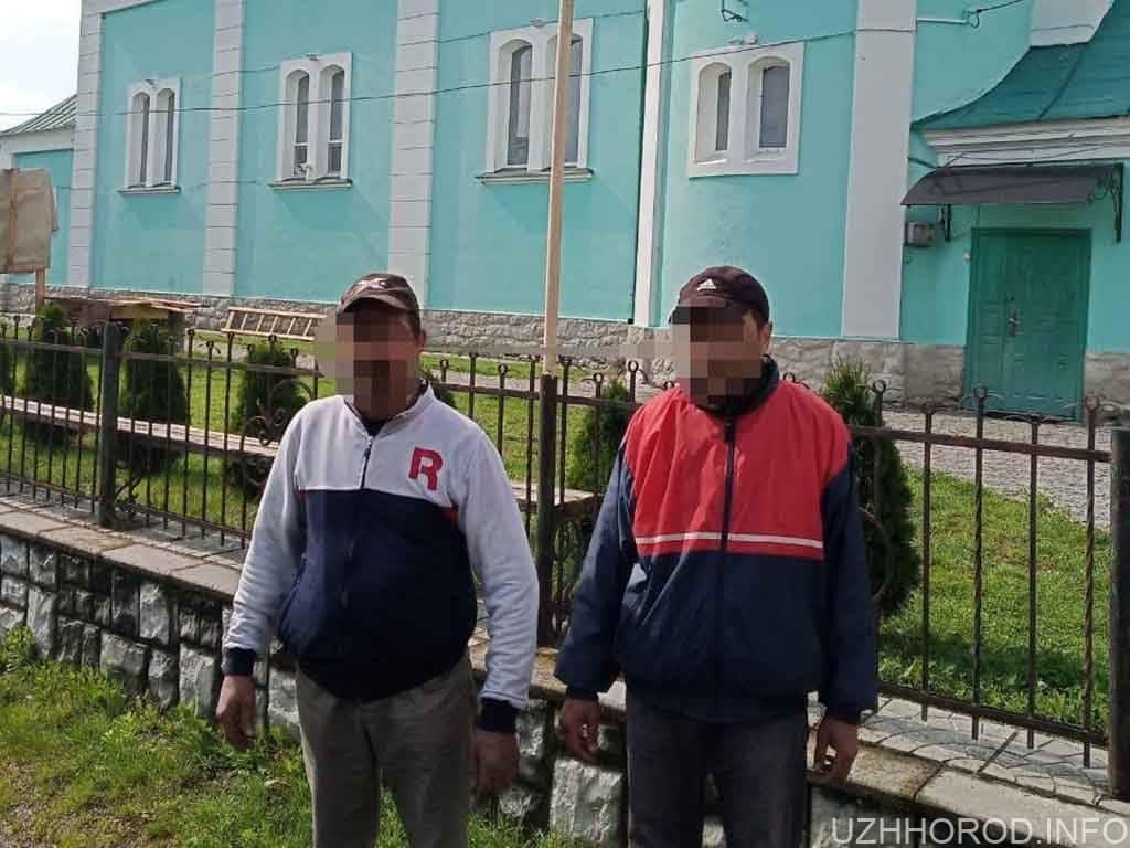 Поліцейські Мукачівщини викрили двох церковних крадіїв УПЦ МП фото