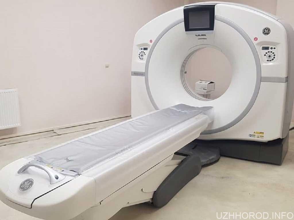 Закарпатський Центр легеневих хвороб отримав надсучасний комп'ютерний томограф фото