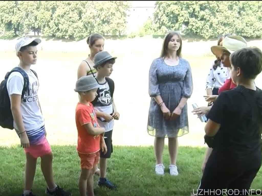 Пізнати рослинність Ужа: екскурсія для дітей (ВІДЕО)