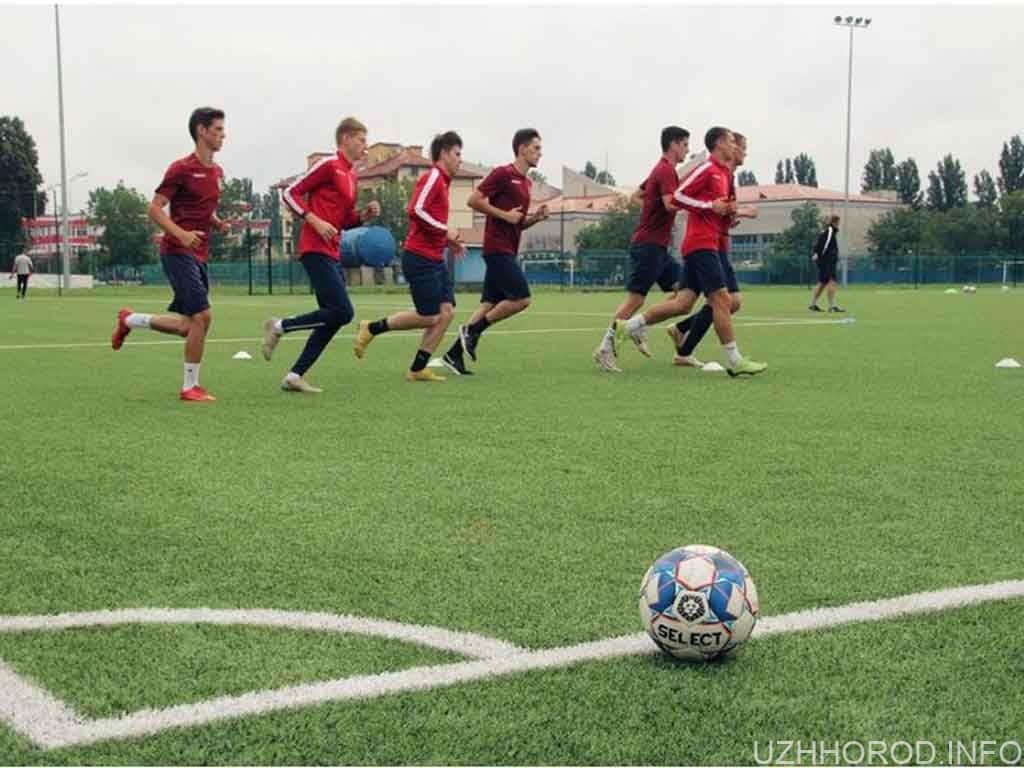 футбол ужгород відновив тренування фото