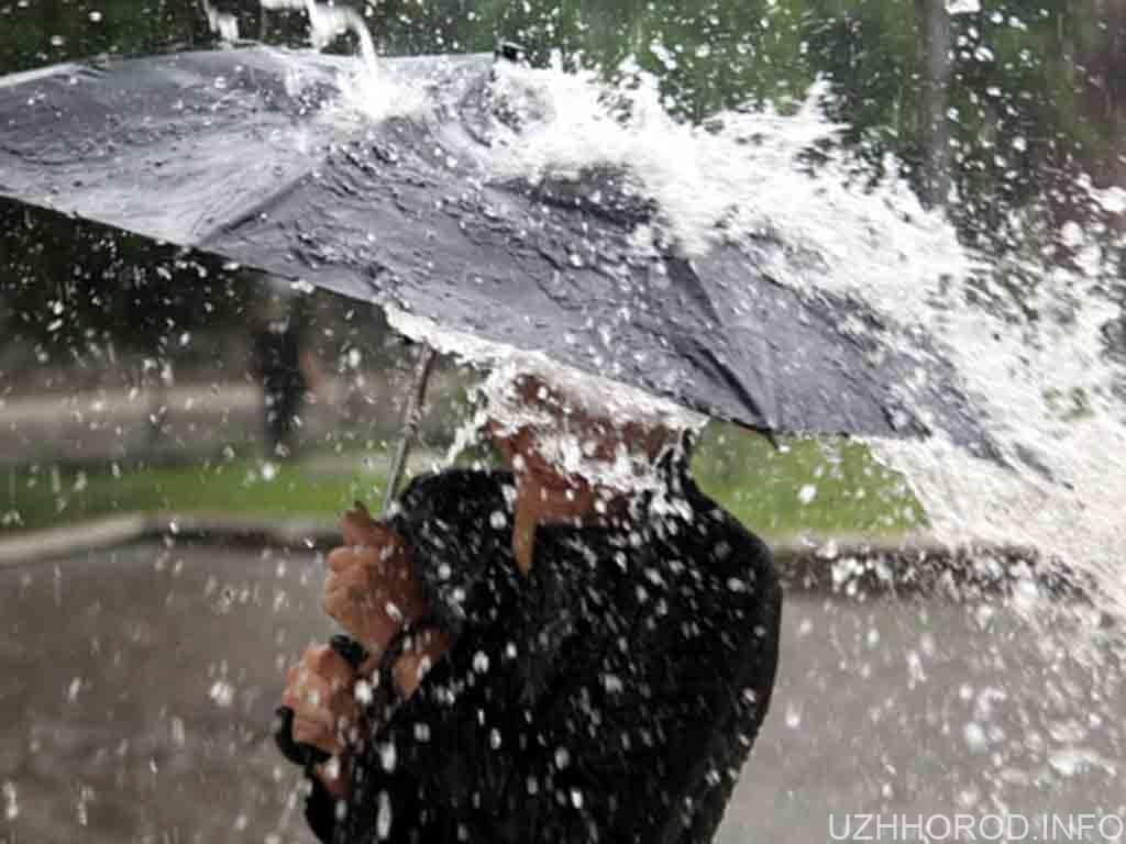 холодний дощовий фронт фотопогода фото