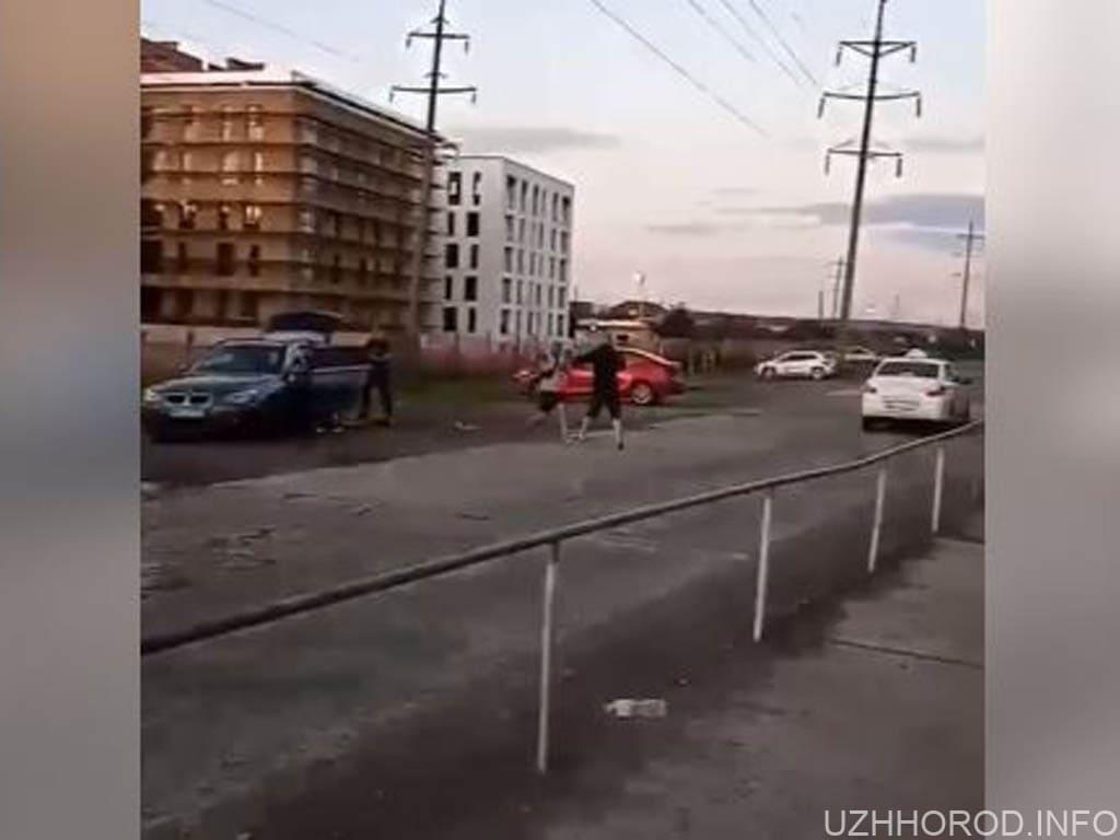 Перестрілка в Ужгороді фото