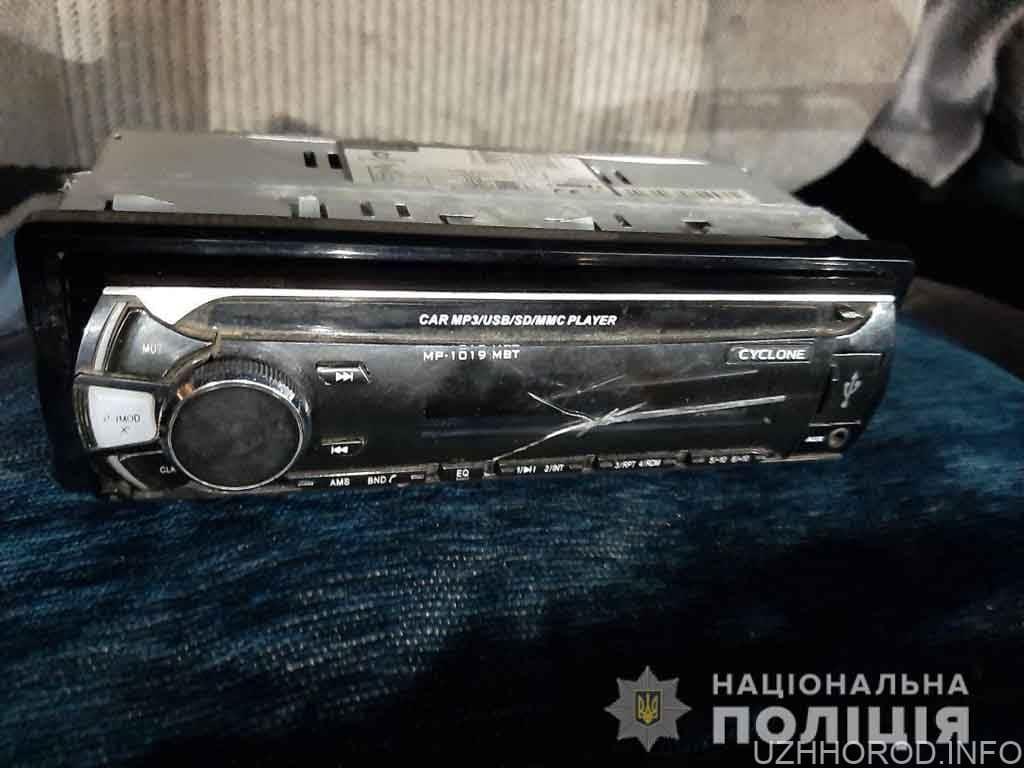 Поліція Ужгорода розшукала тріо злочинців фото
