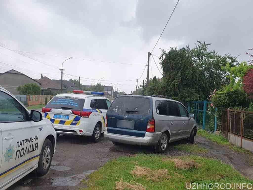 ужгородські патрульні затримали водія фото