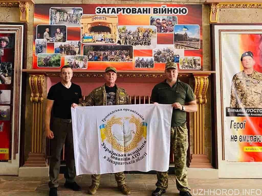 Закарпатські ветерани АТО вручили воїнам 92 бригади медалі фото