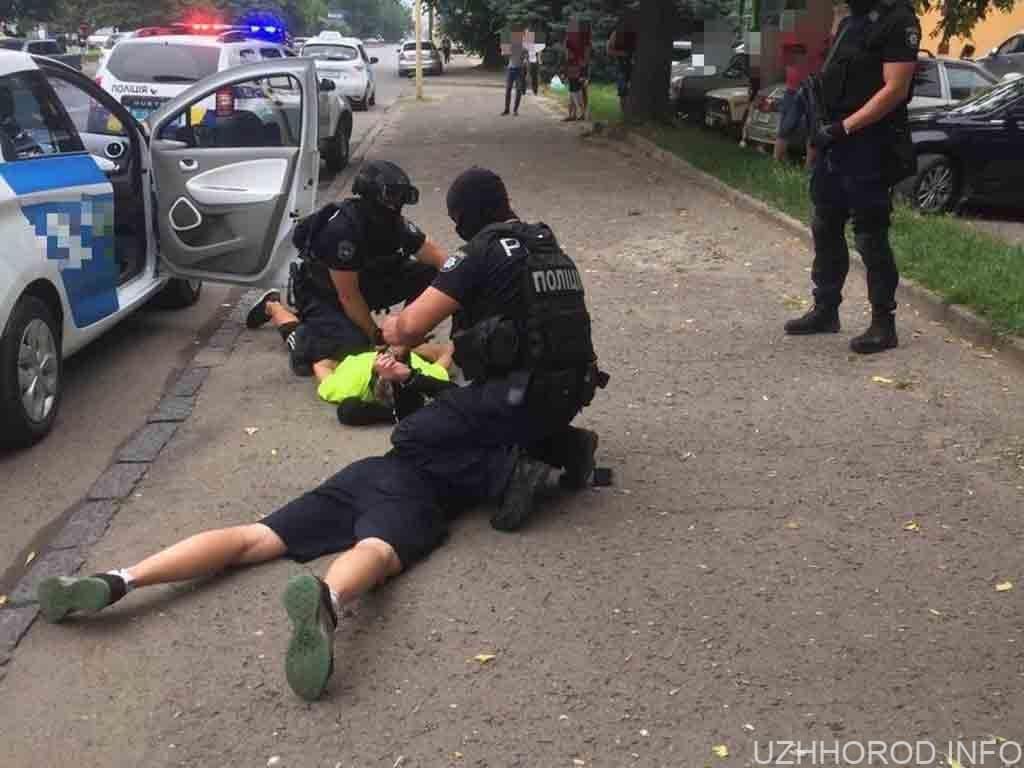 затримано торгівців наркотиками фото