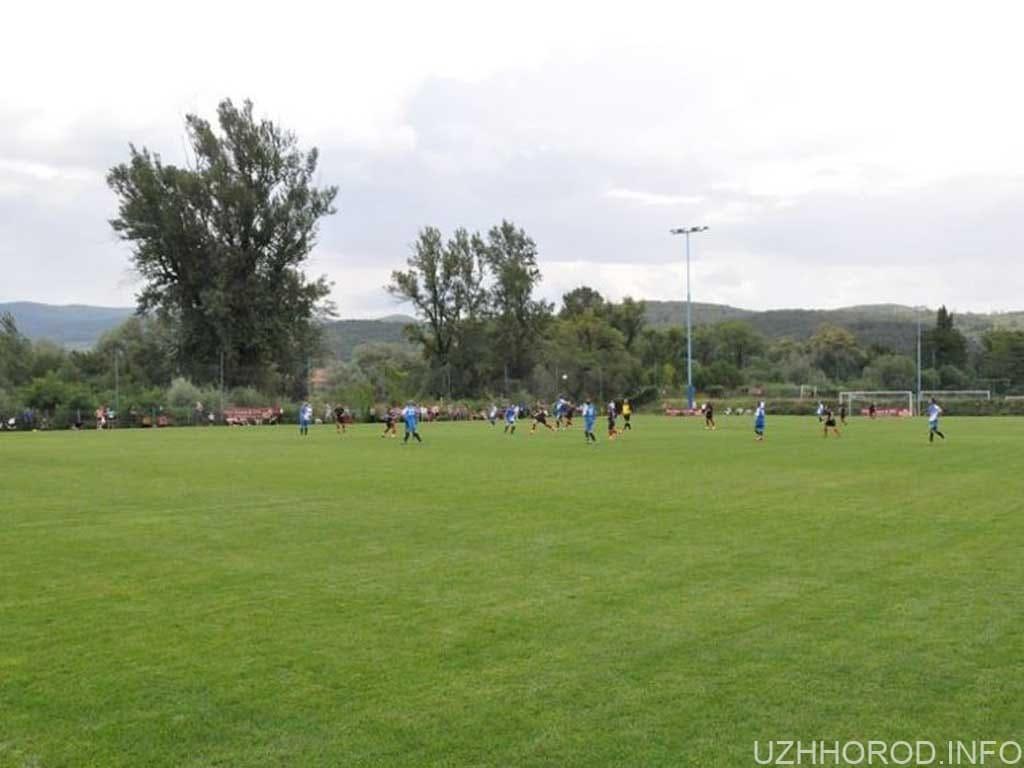 матч за Суперкубок Ужгородщини з футболу фото