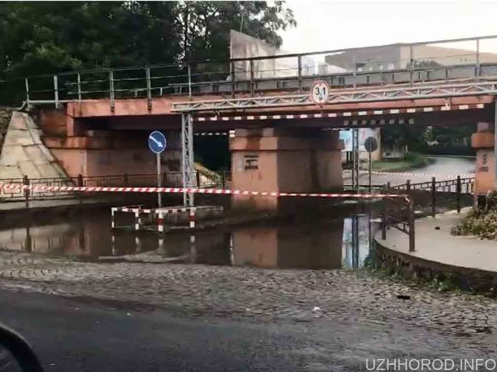 перекритий переїзд Ужгород фото