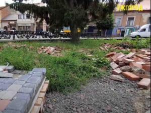 Ремонт площі Петефі в Ужгороді обіцяють доробити до кінця цього року (ВІДЕО)