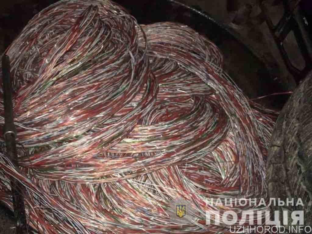 телефонний кабель Ужгород фото