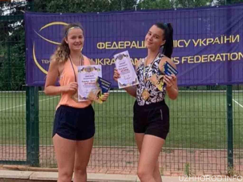 Ужгородка виборола золото теніс фото