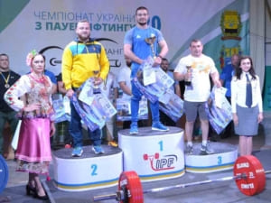 Ужгородці стали бронзовими призерами ЧУ з класичного жиму лежачи