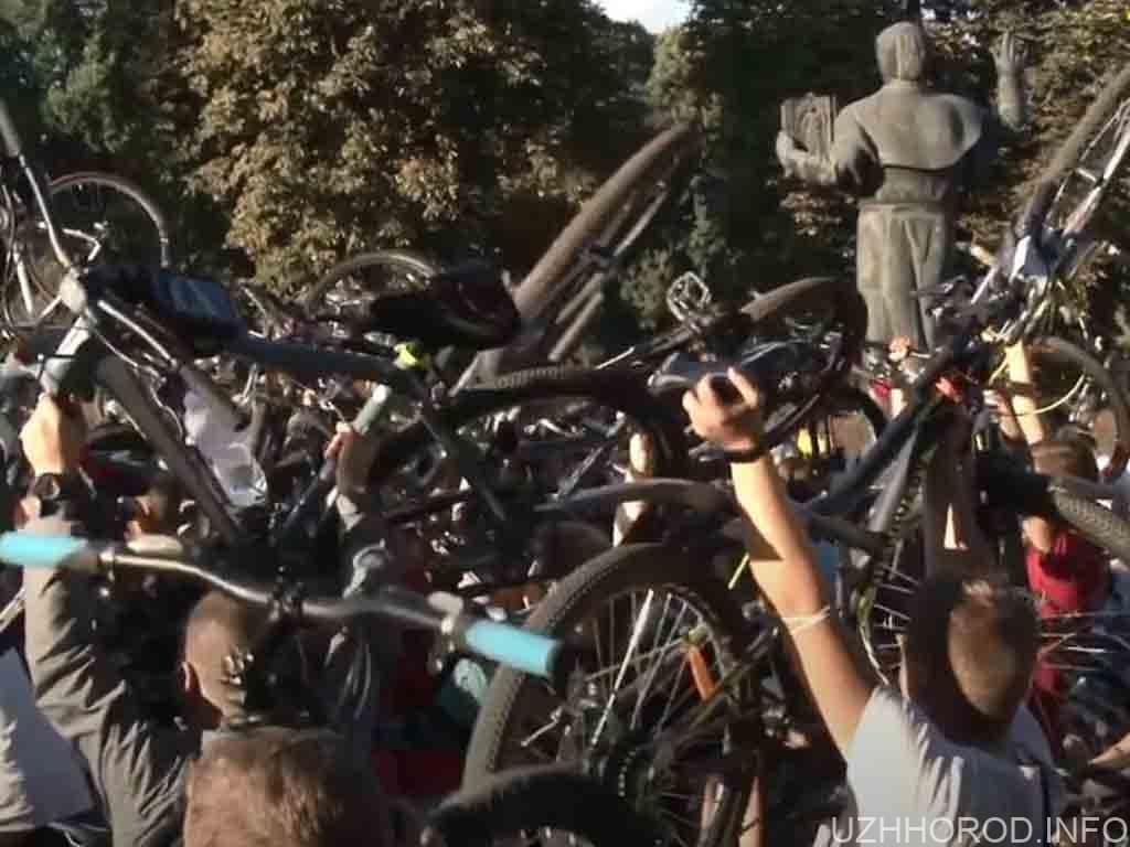 велозаїзд Ужгород спорт фото