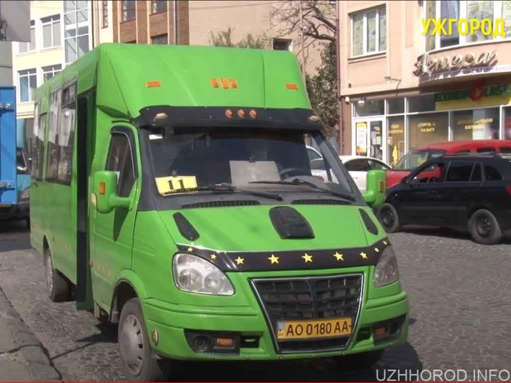 автобусні маршрути Ужгорода фото