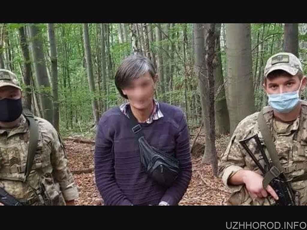 Прикордонники затримали нелегала з Грузії фото