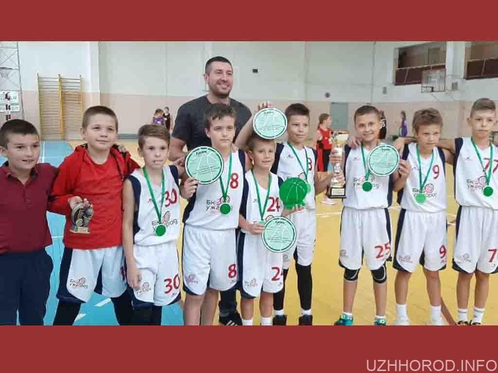 Ужгородські баскетболісти тріумфували фото