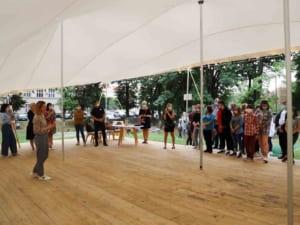 Виставку «Такі, як є: стоп булінг!» відкрили напередодні в Ужгороді