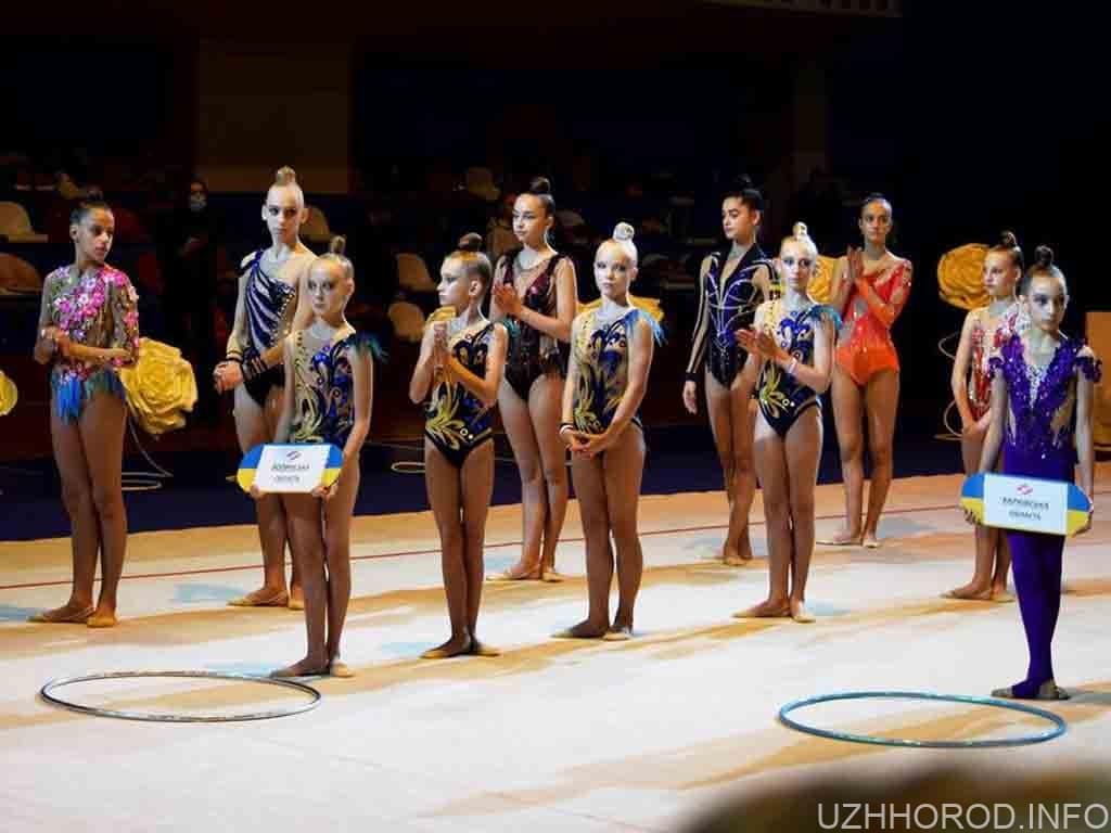 гімнастика ОДА змагання фото