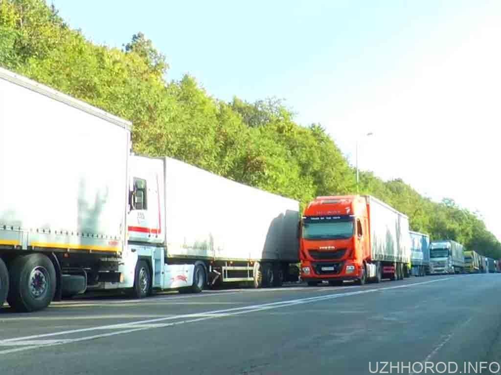 затори з вантажівок