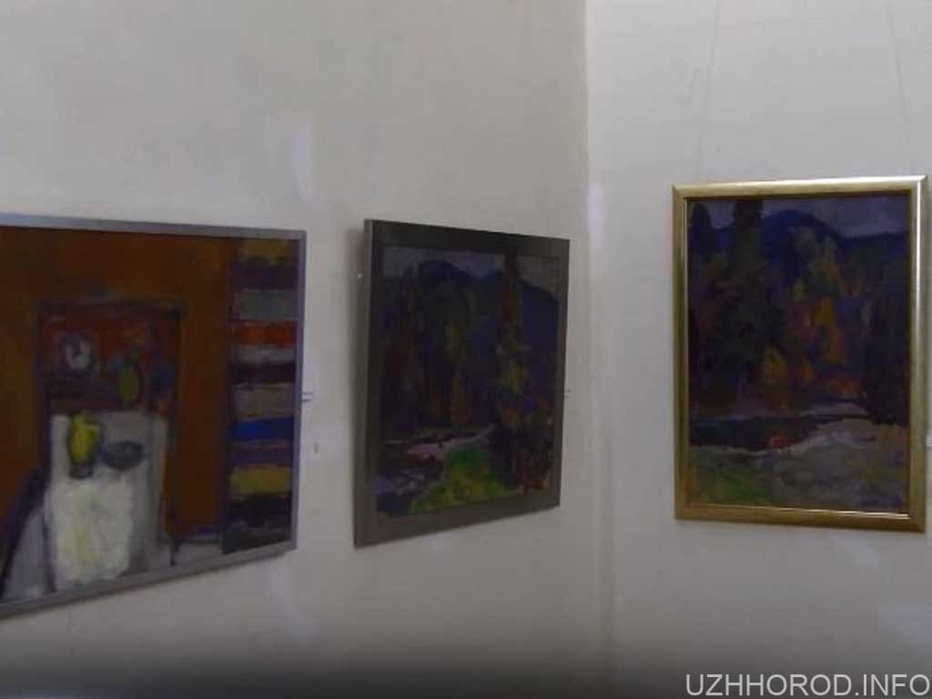 Ювілейна виставка живопису Юрія Шелевицького експонується (ВІДЕО)
