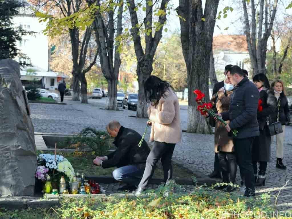 Героїв Майдану та війни на сході вшанували пам'ятним заходом (ФОТО)