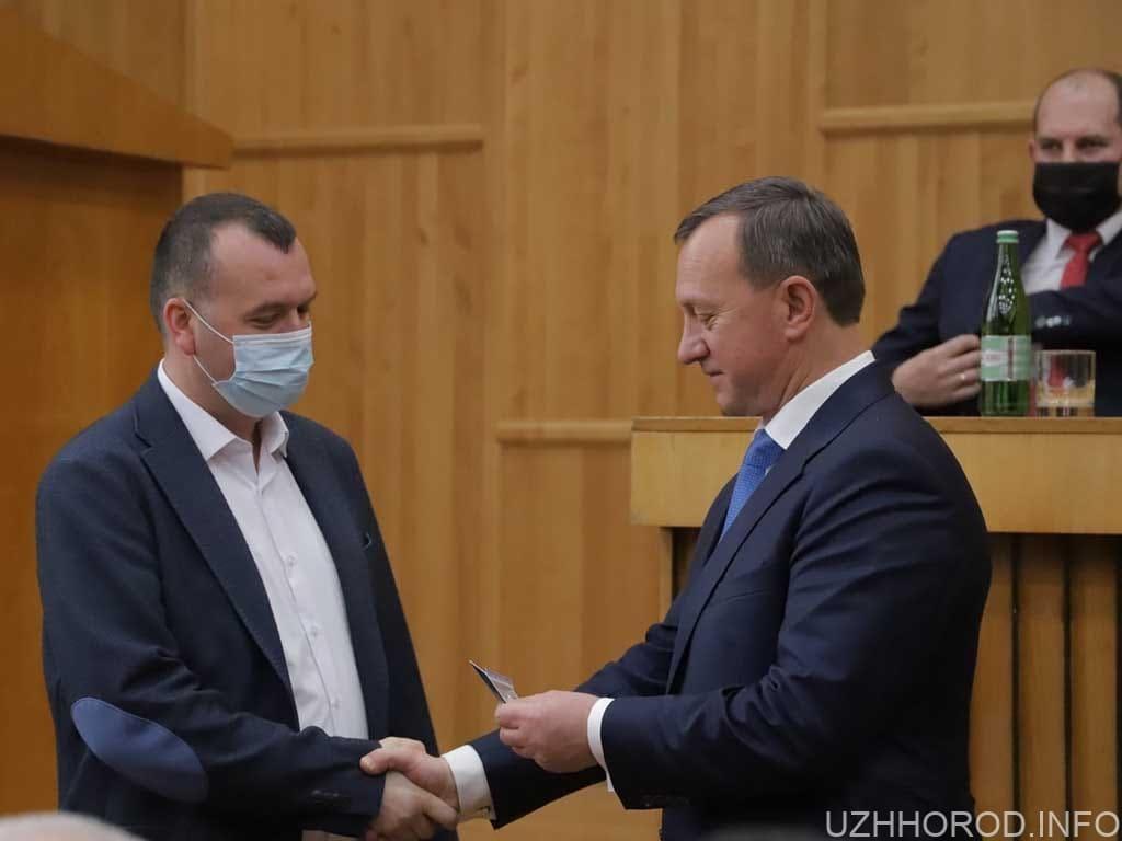 Богдан Андріїв склав присягу фото
