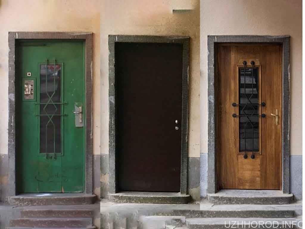 Відновлено історичні двері в будівлі колишньої єврейської школи