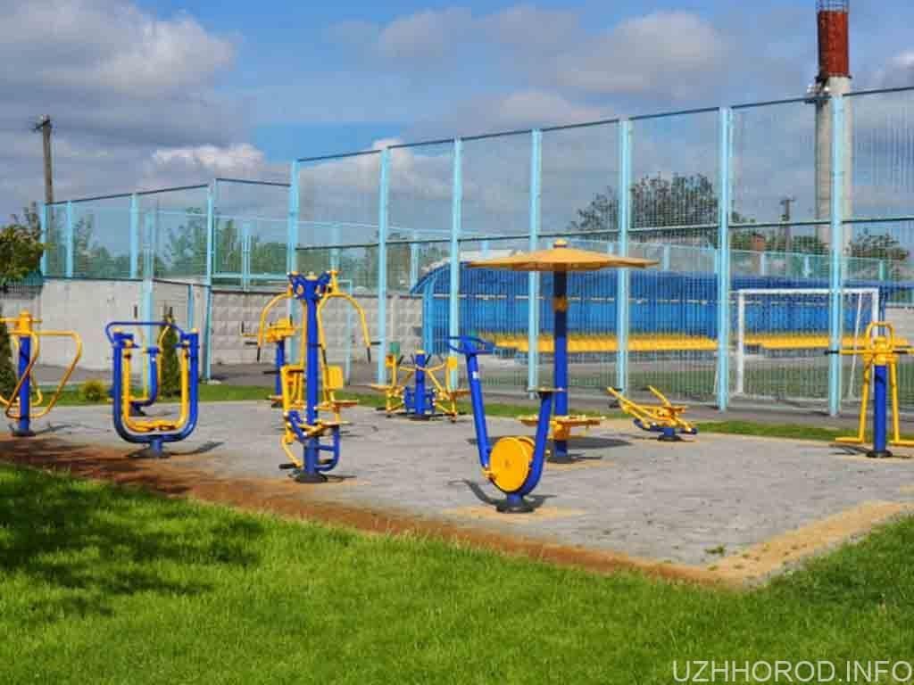 В Ужгороді на Капушанській встановлять спортивний майданчик