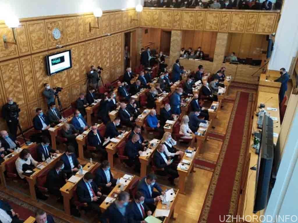 Партія угорців показово покинула засідання Закарпатської облради фото