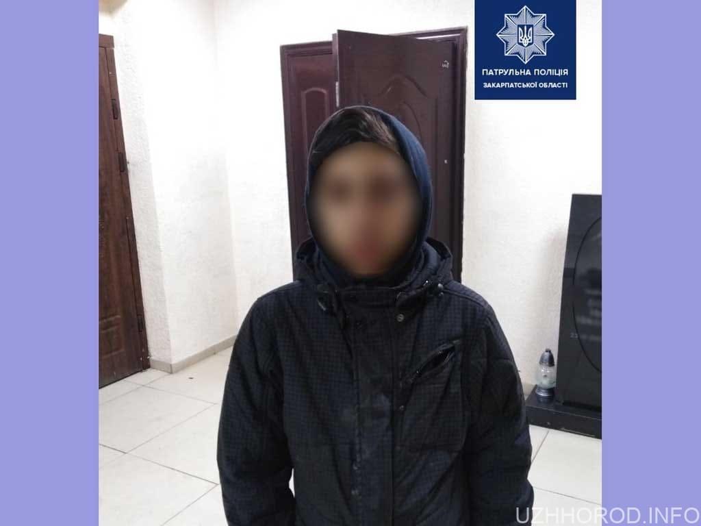 патрульні впіймали крадія фото