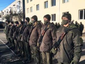 Ужгородські нацгвардійці отримали особисту зброю
