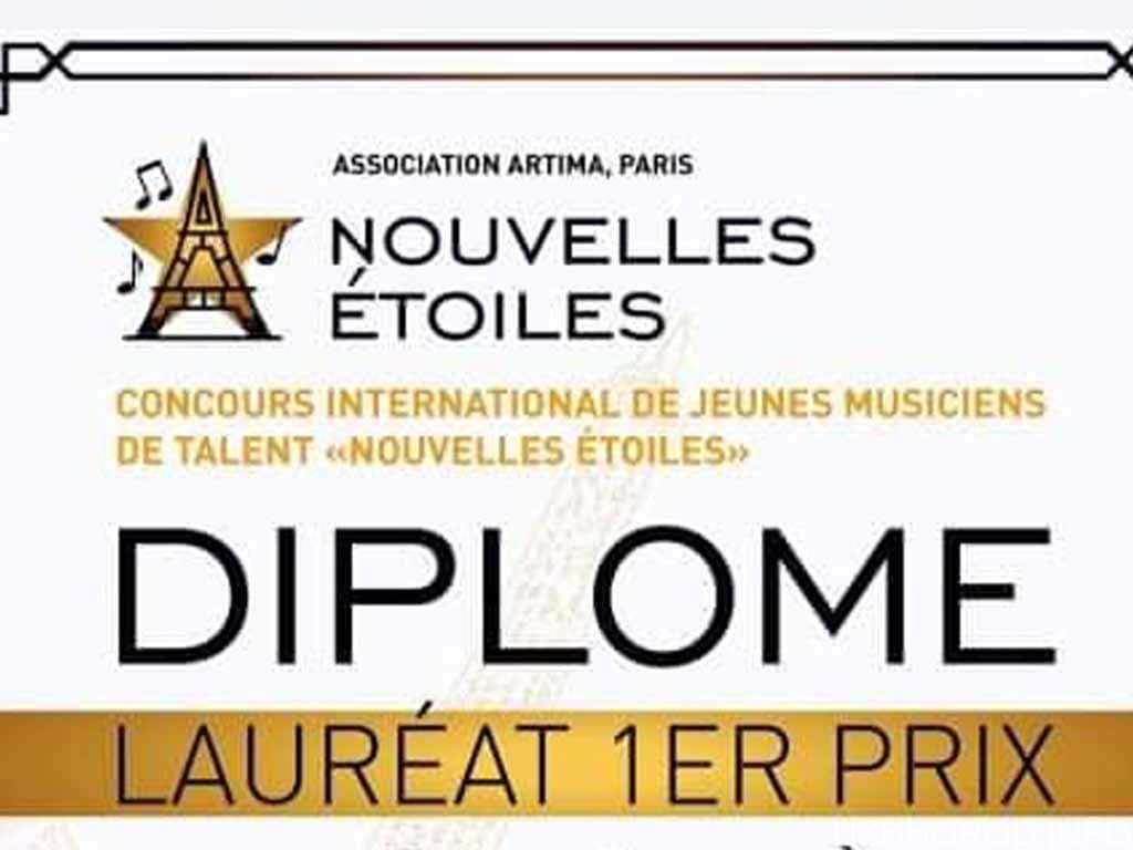 Ужгородець переміг на конкурсі «Nouvelles Étoiles» в Парижі