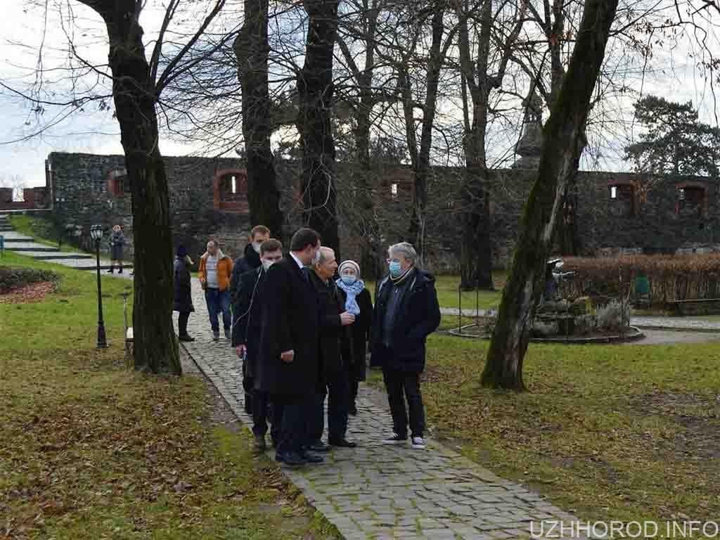 Олександр Ткаченко разом з родиною відвідав Закарпаття (ФОТО)
