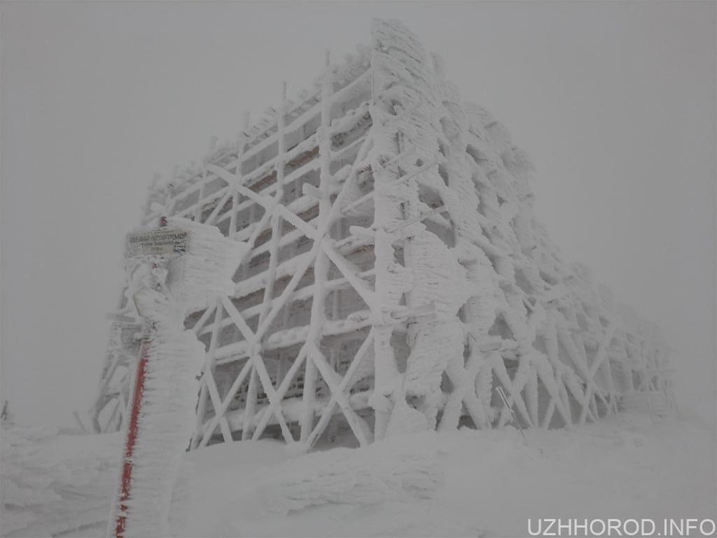 піп гора сніг фото