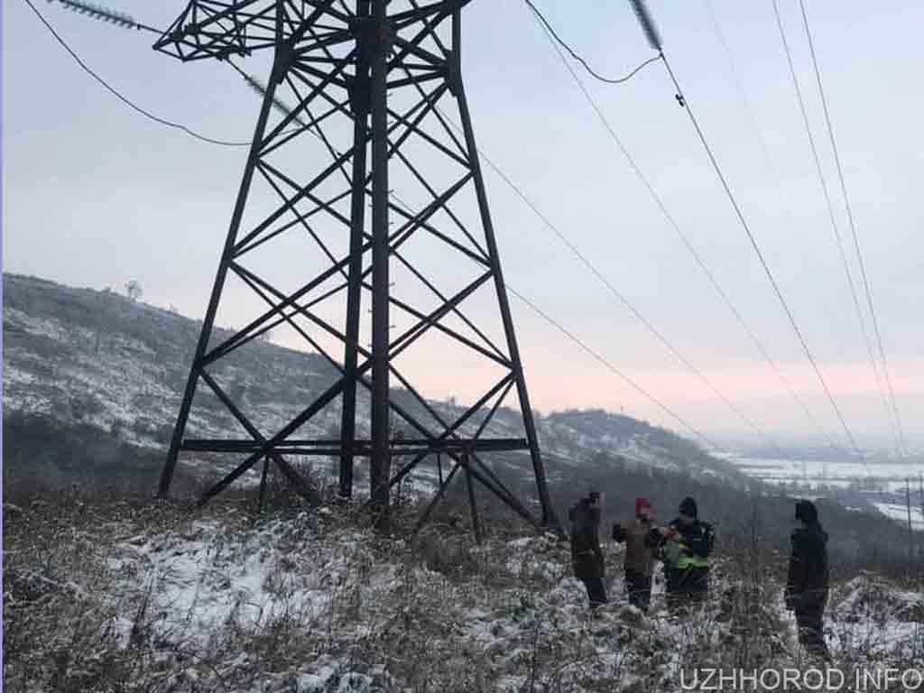 поліція самогубство електроопора фото